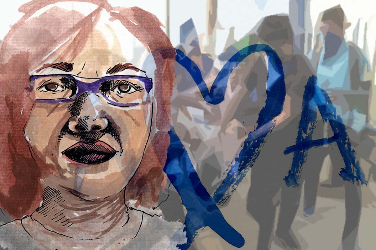 madre nunca olvida luto en Nicaragua