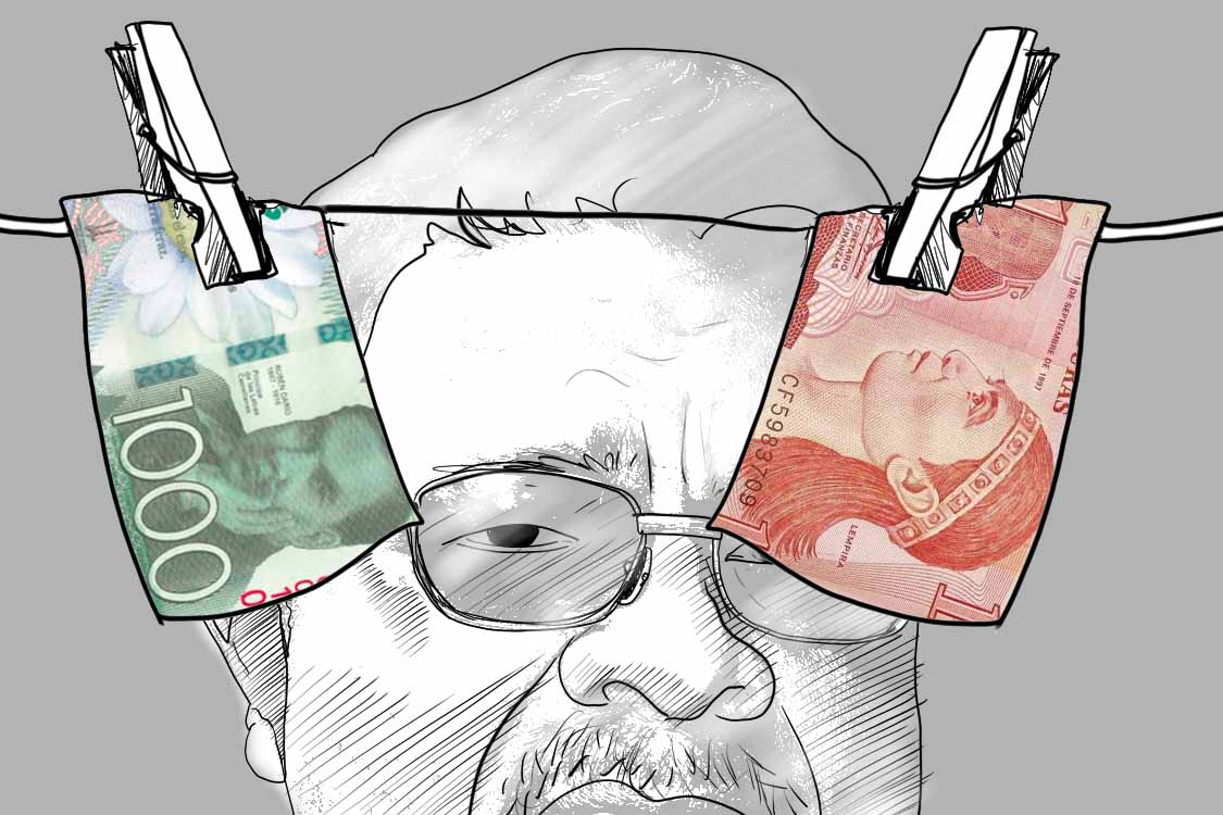 Francisco Chico López, Honduras, Nicaragua, ALBA, Albanisa, sanciones, Juan Orlando Hernández